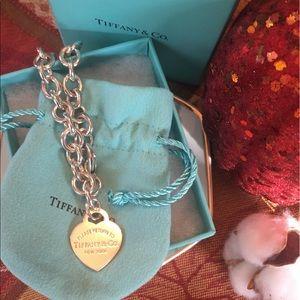 Tiffany &Co Return to Tiffany Heart Tag Bracelet